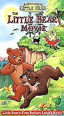 NEW-The-Little-Bear-Movie-2001-VHS-Video-First-Movie