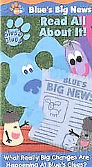 blues clues read all about it vhs 2001 ebay