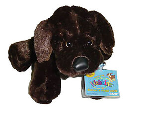 Ganz Chocolate Lab Webkinz New Unused Code Sealed Retired Mint With Tags HM138