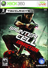 Tom Clancy's Splinter Cell: Conviction  (Xbox 360, 2010) (2010)