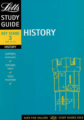 """""""VERY GOOD"""" History: Key Stage 3 Study Guides (Letts Revise Key Stage 3), Lane,"""