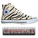 Detalles de Converse Chucks Zapatos All Star Eu 41 UK 7,5 Cuero Plata Edición Limitada