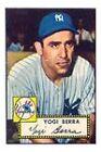 1952 Topps Yogi Berra New York Yankees #191 Baseball Card