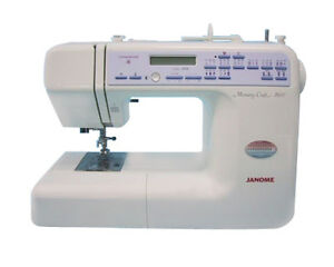 Janome memory craft 2400 sewing machine for Janome memory craft 6600p