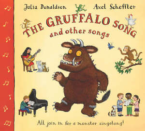 The-Gruffalo-Song-And-Other-Songs-GOOD-Book