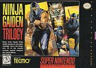 Ninja Gaiden Trilogy (Super Nintendo Entertainment System, 1995)