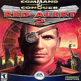 Command-amp-Conquer-Red-Alert-2-RedAlert-Two-and-PC-Computer-No-instructions-box