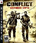 Conflict: Denied Ops (Sony PlayStation 3, 2008)