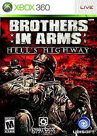 Brothers in Arms: Hell's Highway (Microsoft Xbox 360, 2008)G