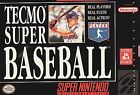 Tecmo Super Baseball (Super Nintendo Entertainment System, 1994)
