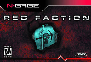 Red Faction (N-Gage, 2003) COMPLETE cib ngage
