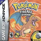 Pokemon FireRed Version  (Nintendo Game Boy Advance, 2004) (2004)