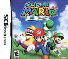 Super Mario Nintendo 3DS DS 64 Video Games