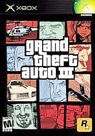 Grand Theft Auto III GTA 3 (Microsoft Xbox, 2003) The XBOX Collection New