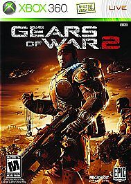 Gears-of-War-2-Xbox-360-2008-Game-Disc-ONLY