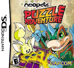 Neopets Puzzle Adventure (Nintendo DS, 2008) - European Version