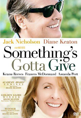 Somethings Gotta Give (DVD, 2004) - FREE SHIPPING!