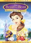 Beauty and the Beast: Belles Magical World (DVD, 2003, Gift Set Includes Belle Compact and Magical Rose Purse)