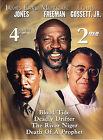 James Earl Jones, Morgan Freeman, and Louis Gossett, Jr.: Blood Tide/Deadly Drifter/The River Niger/Death of a Prophet (DVD, 2004, 2-Disc Set)