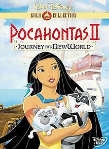 Pocahontas-II-Journey-To-A-New-World-DVD-2000-Gold-Collection-Edition