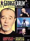 George Carlin - Jammin in New York/Doin It Again (DVD, 2000, Closed Captioned)