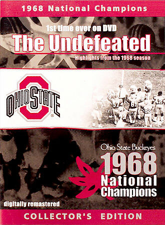 1968 National Champions The Undefeated Ohio St. Buckeyes DVD