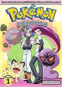 pokemon season 1 box set part 2 dvd 2007 3 disc set ebay