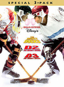 NEW The Mighty Ducks Boxed Set DVD 2002 3Disc Set - Eden, North Carolina, United States - NEW The Mighty Ducks Boxed Set DVD 2002 3Disc Set - Eden, North Carolina, United States