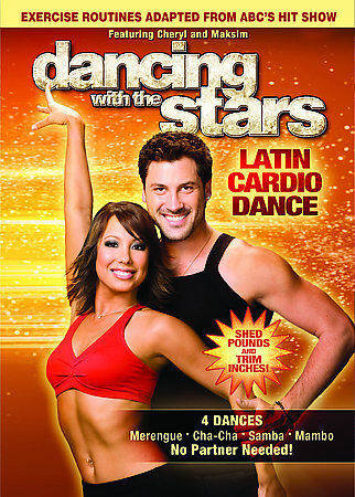 Dancing With The Stars: Latin Cardio Dance DVD VIDEO MOVIE dancers workout fit 2