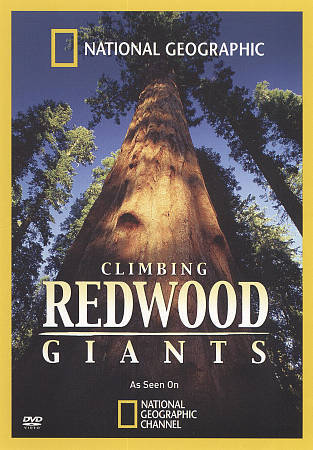 National Geographic: Climbing Redwood Giants (DVD, 2010) GREAT SHAPE