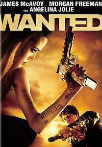 Wanted-DVD-NEW-and-Sealed-WS-James-Mcavoy-FREE-Shipping