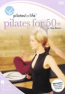 Pilates for Life: Pilates for 50+ 2006 by Brown, Amy 1897200587 . EXLIBRARY