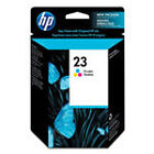 HP 23 (C1823D#140) Tri-Color Ink Cartridge