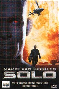 Dvd **SOLO** con Mario Van Peebles nuovo sigillato 1996