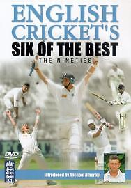 English Cricket's Six Of The Best - The Nineties (DVD, 2003)