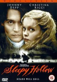Sleepy Hollow DVD 2000 Acceptable DVD Johnny Depp Christina Ricci Mirand - Bilston, United Kingdom - Sleepy Hollow DVD 2000 Acceptable DVD Johnny Depp Christina Ricci Mirand - Bilston, United Kingdom