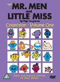 Mr Men And Little Miss Collection Volume - 1 (DVD, 4-Disc Set) . FREE UK P+P ...