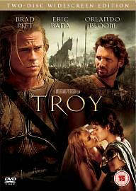 Troy (DVD, 2004, 2-Disc Set) new and sealed