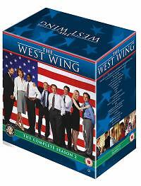 west wing complete series 2 dvd box set bonus features season new second uk ebay. Black Bedroom Furniture Sets. Home Design Ideas