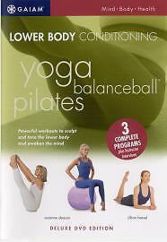 Lower-Body-Conditioning-Yoga-Balanceball-Pilates-DVD-2005-Good-DVD-Jil
