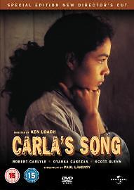 Carla's Song (DVD, 2005, Director's Cut) special edition