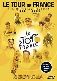 Official History Of The Tour De France 1903 To 2005 (DVD, 2006)