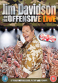 Jim Davidson - On The Offensive - Live (DVD, 2008)