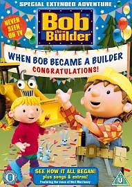 Bob The Builder  When Bob Became A Builder DVD 2005 - <span itemprop='availableAtOrFrom'>Newport, Newport, United Kingdom</span> - Bob The Builder  When Bob Became A Builder DVD 2005 - Newport, Newport, United Kingdom