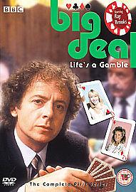 BIG-DEAL-DVD-RARE-Ray-Brooks-Sharon-Duce-Gambling-BBC-TV-Series-1-Official