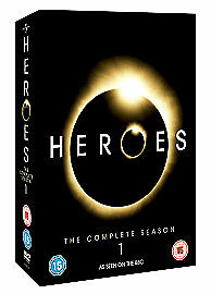 Heroes-Series-1-Complete-DVD-2007-7-Disc-Set-New-Sealed