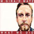 Michael Gira - What We Did (2001)