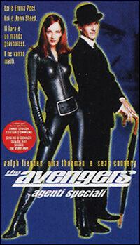 THE AVENGERS agenti speciali con Uma Thurman - VHS