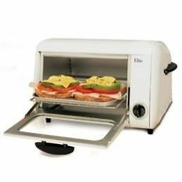 Elite Cuisine Toaster Oven Broiler (New) Couleur blanc