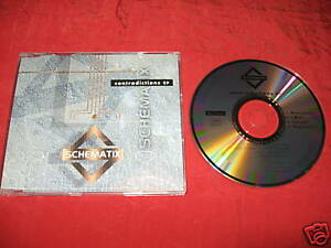 Schematix-Contradictions-1993-CD-MINT-Downtempo-IDM